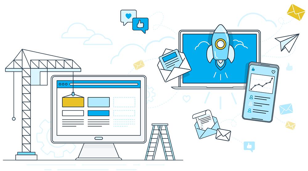 Website Design & Web Development and Social Media Campaigns