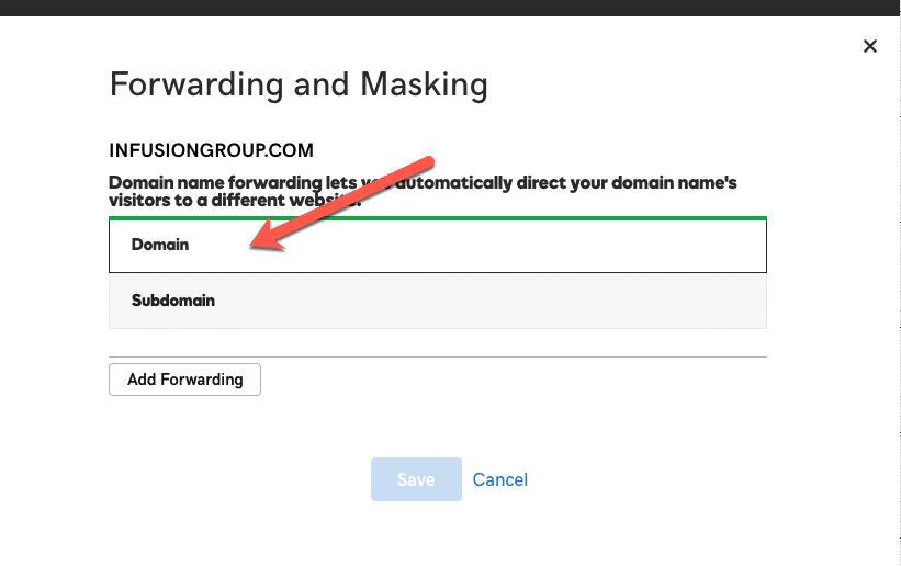 How to Forward a Domain – GoDaddy